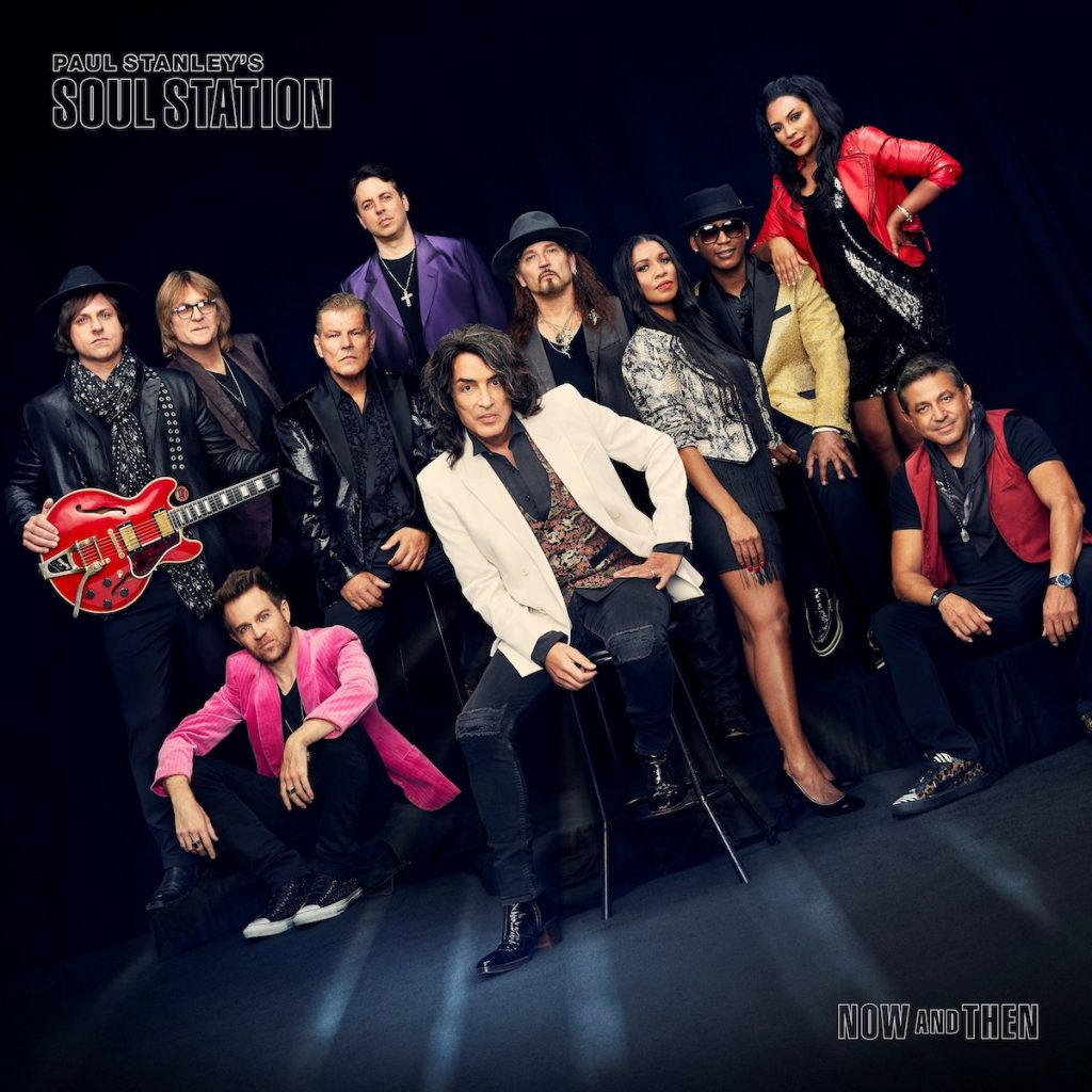 UME-Paul-Stanley-s-Soul-Station-Now-And-Then-Album-Cover
